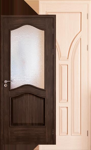 деревяні міжкімнатні двері з євробрусу замовити в івано франківську