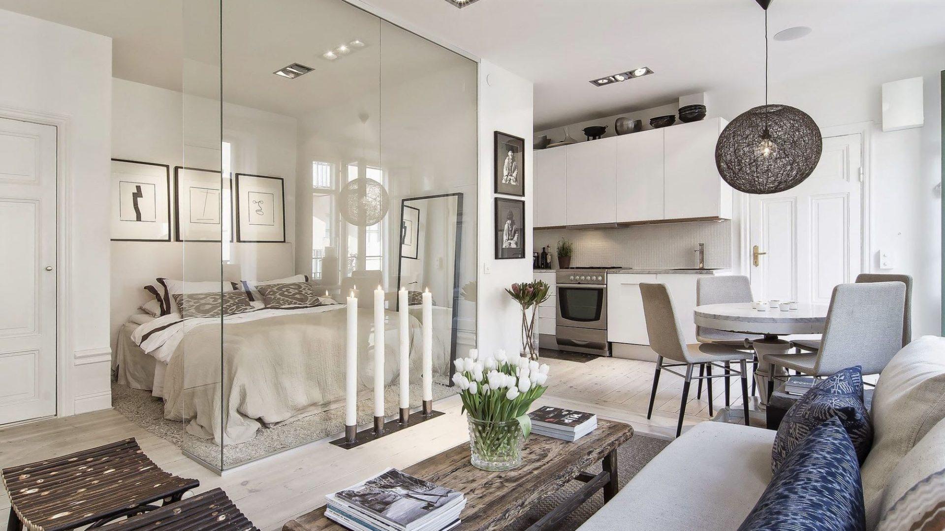 скляні перегородки в квартирі
