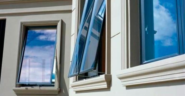 верхньопідвісне вікно